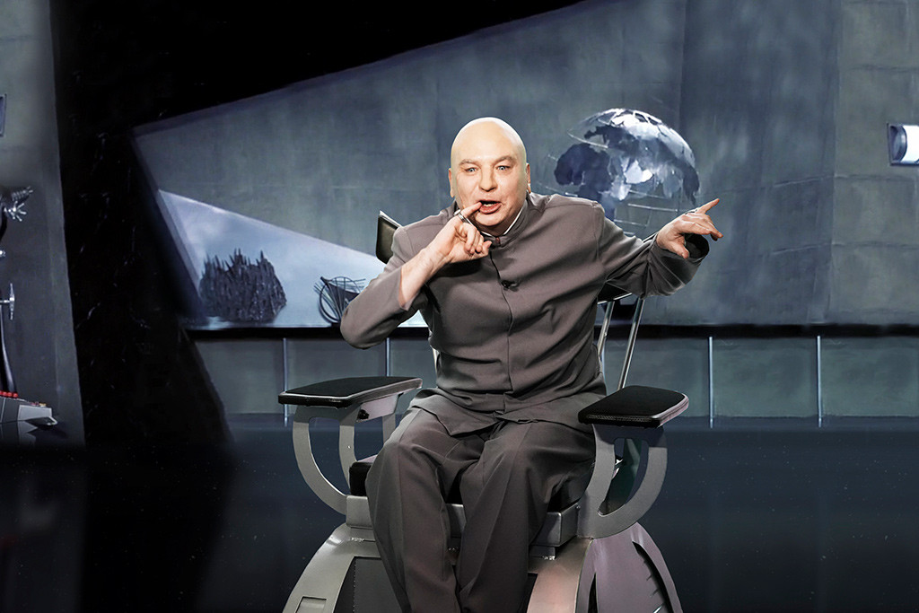 Mike Myers, Dr. Evil, The Tonight Show