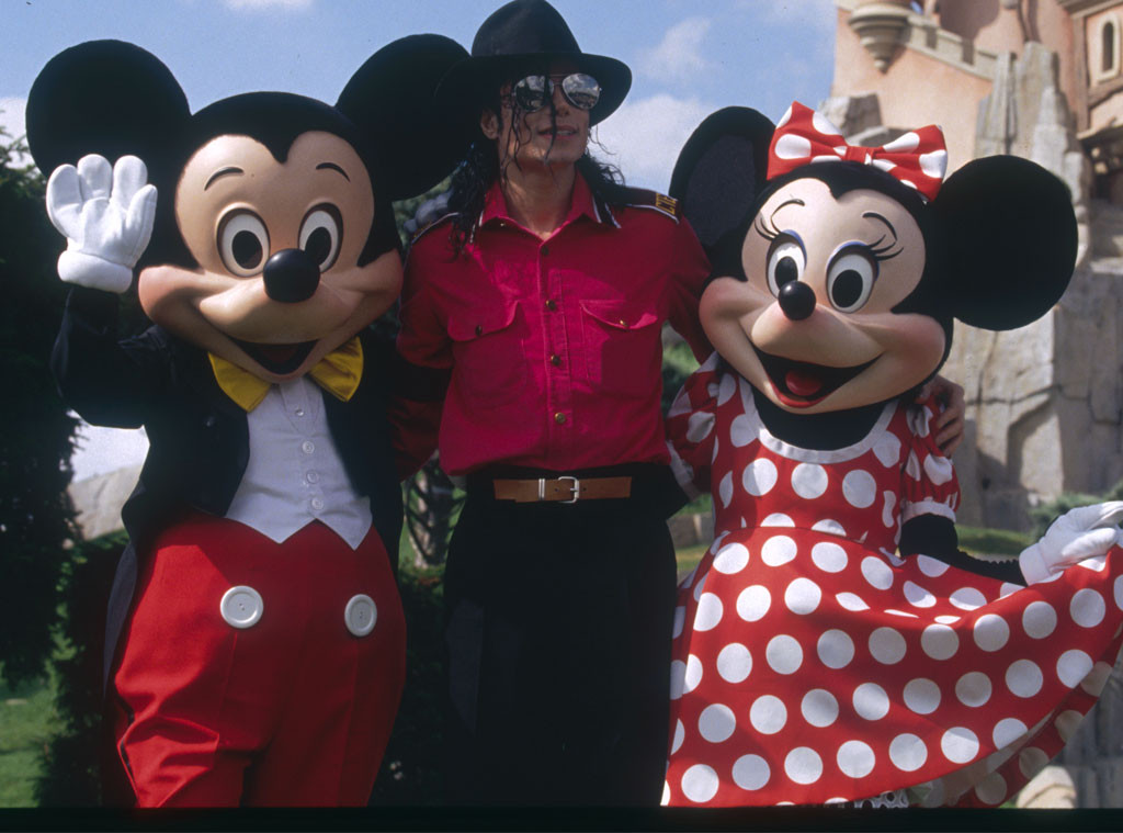 Michael Jackson, Mickey Mouse
