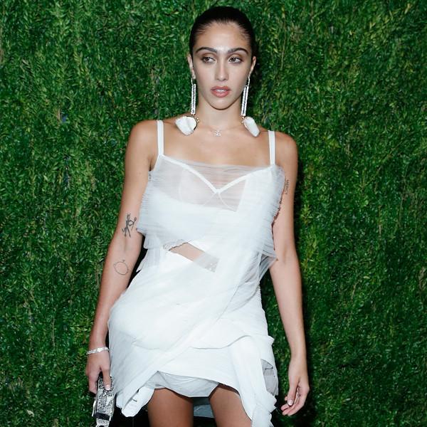 Lourdes Leon, FDA / Vogue Fashion Fund, Sheer Dress