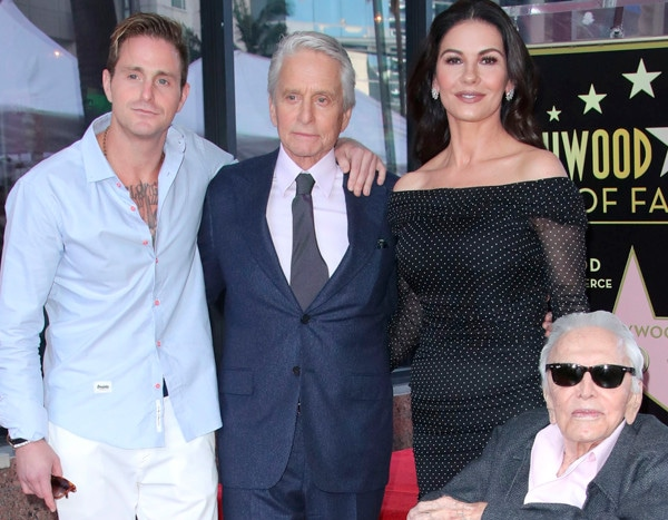 Kirk Douglas, 101, Attends Michael Douglas' Walk of Fame Ceremony