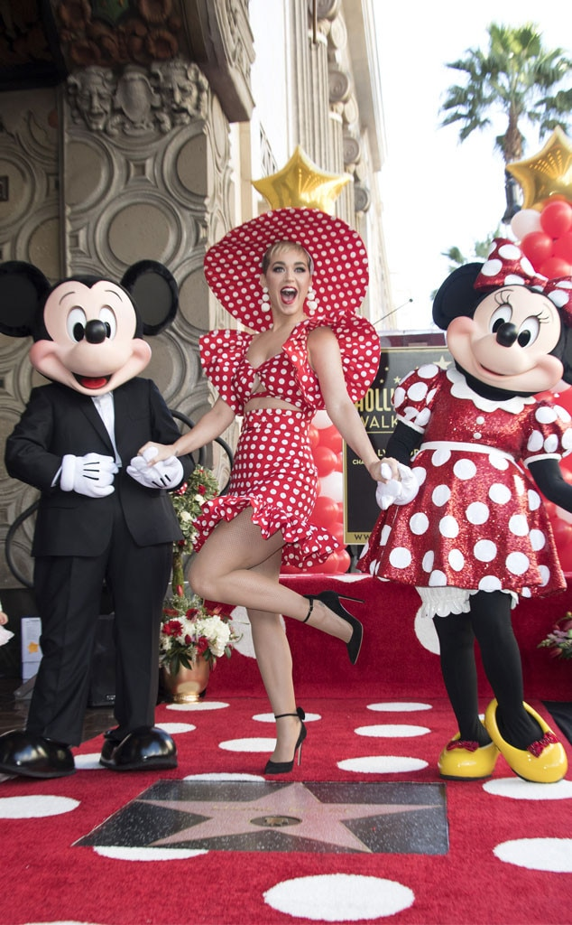 Katy Perry, Mickey Mouse