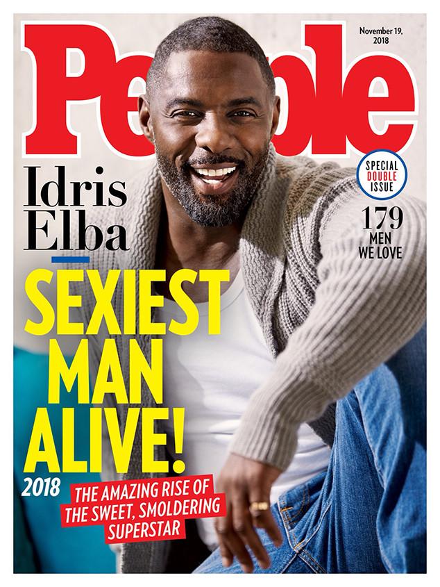 Idris Elba, People, Sexiest Man Alive
