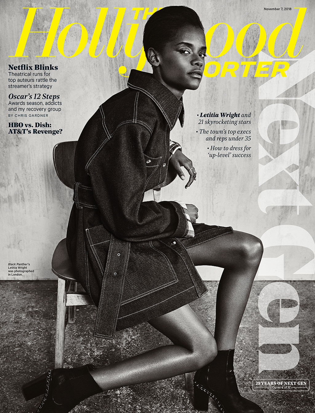 Letitia Wright, The Hollywood Reporter