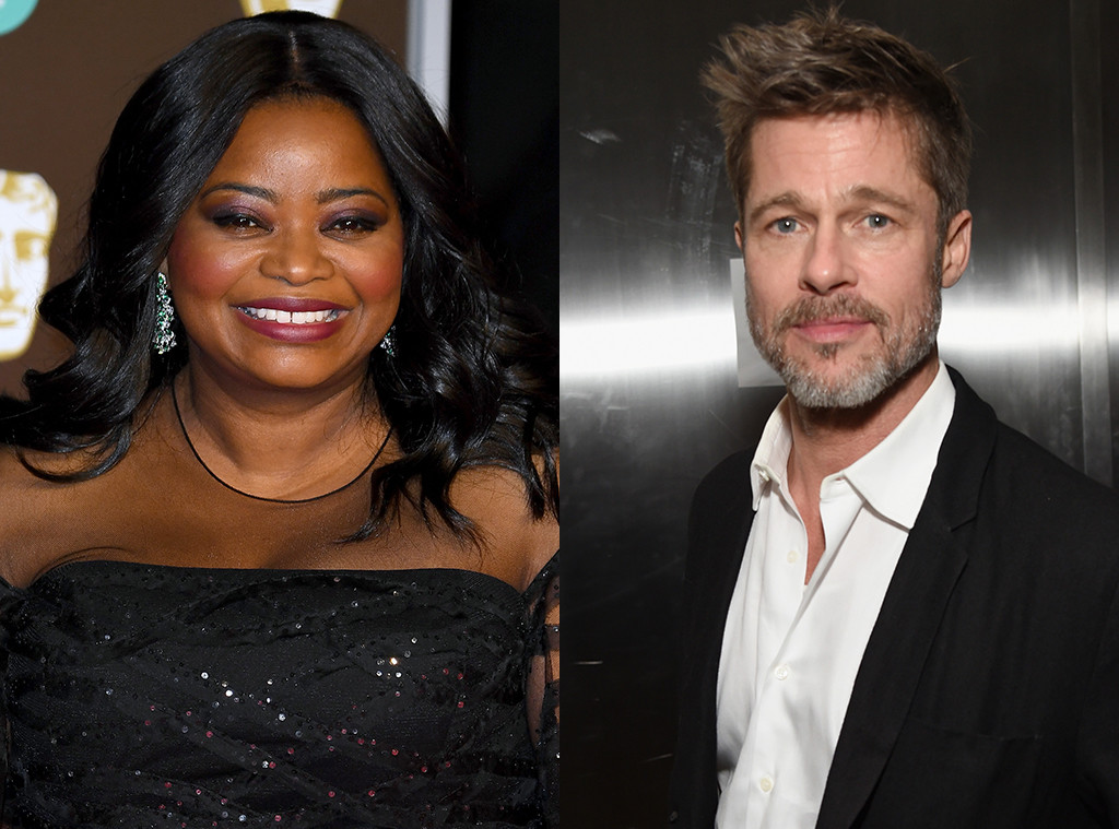 Octavia Spencer, Brad Pitt
