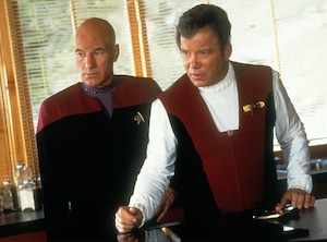 Star Trek: Generations, Patrick Stewart, William Shatner