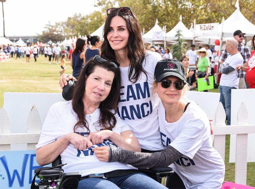 Nanci Ryder, Courtney Cox and Renee Zellweger