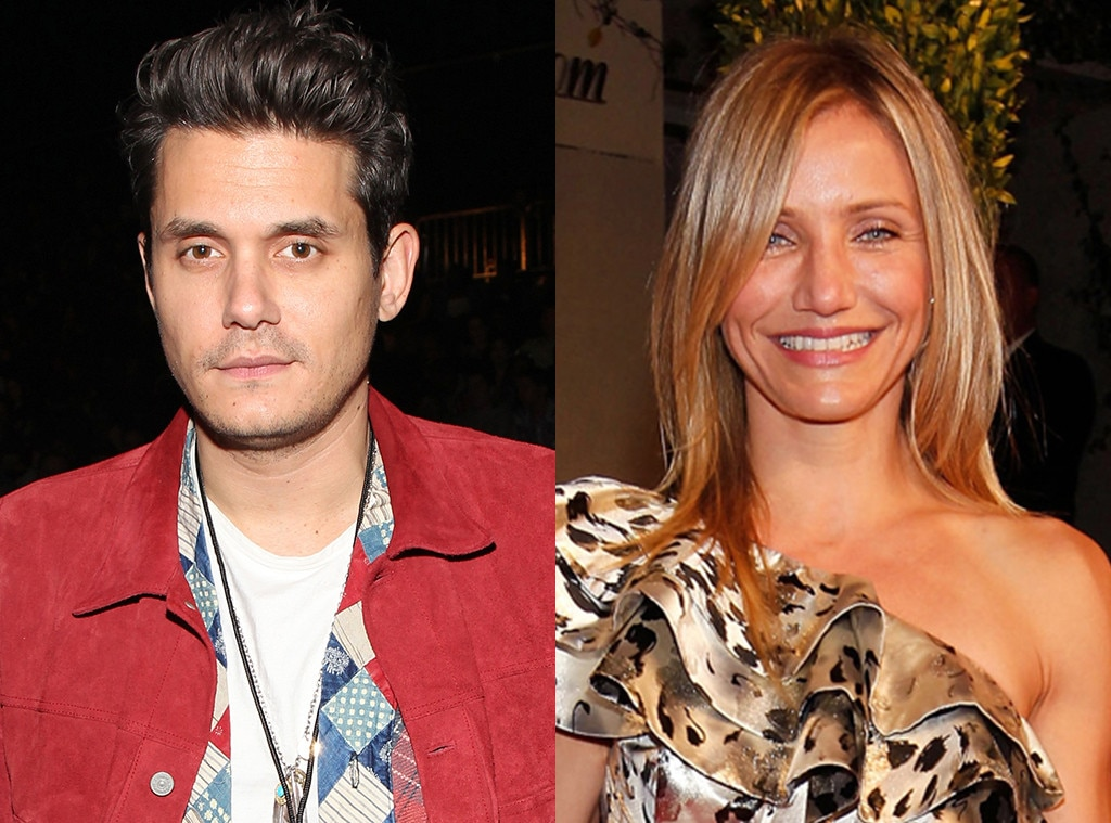 Cameron Diaz -  After calling it quits with Simpson in 2007, Mayer was romantically linked to the  Bad Teacher  actress.