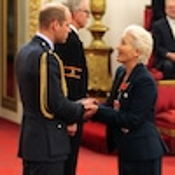 Prince William, Emma Thompson, Buckingham Palace