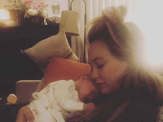 Hilary Duff Shares Intimate Video of Daughter Banks' Birth