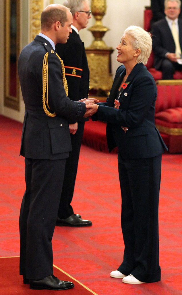 Prince William, Emma Thompson, Buckingham Palace