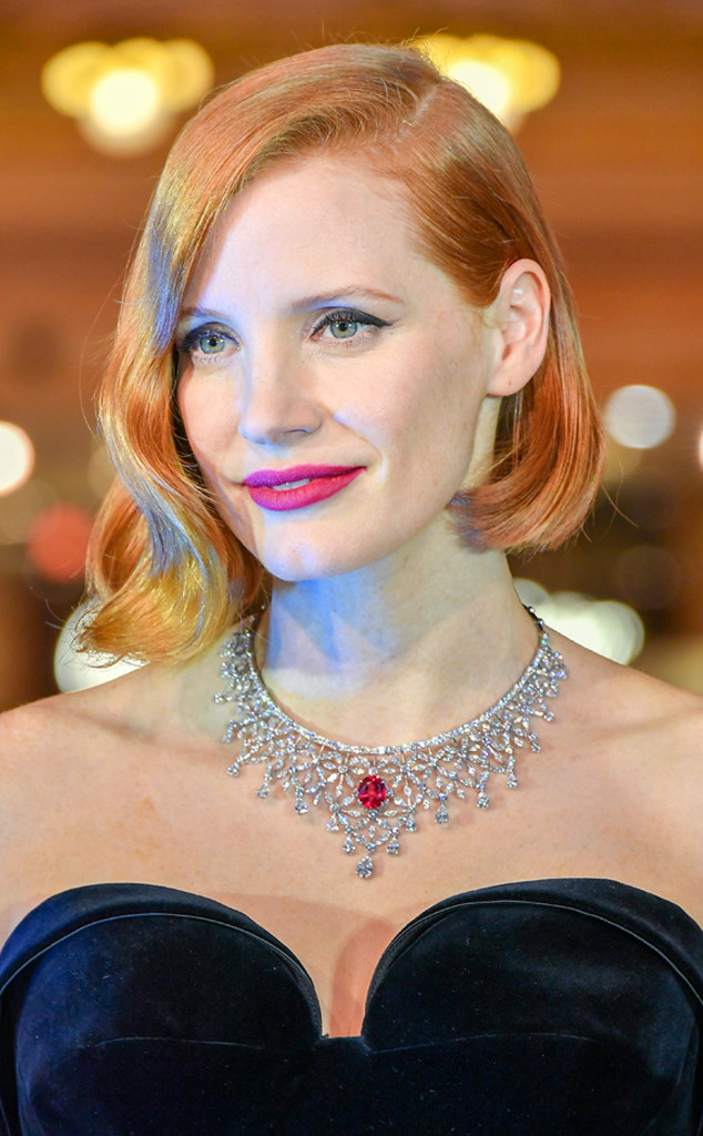 ESC: Jessica Chastain, Beauty