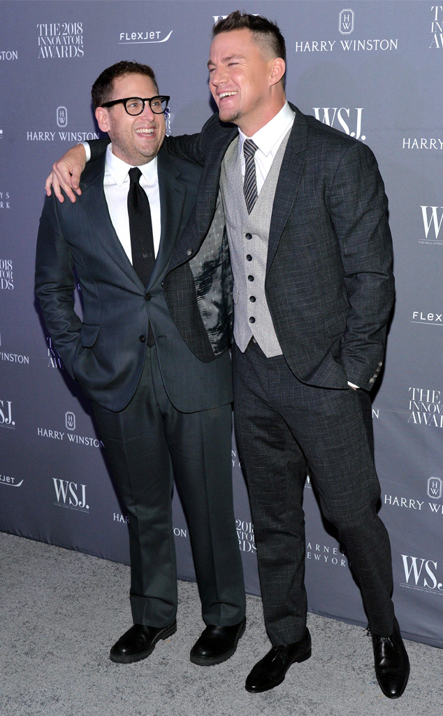 Jonah Hill, Channing Tatum, 2018 Innovator Awards, WSJ