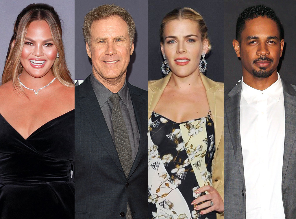 Chrissy Teigen, Will Ferrell, Busy Philipps, Damon Wayans Jr.