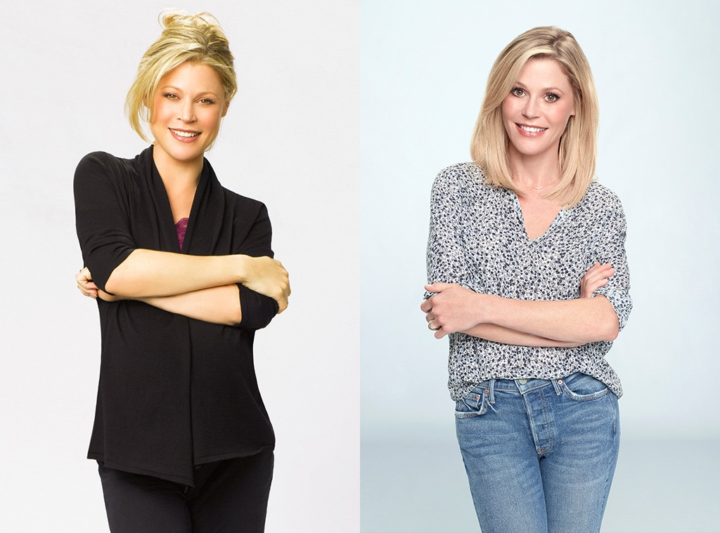 Julie Bowen as Claire Dunphy from Modern Family Then and ...