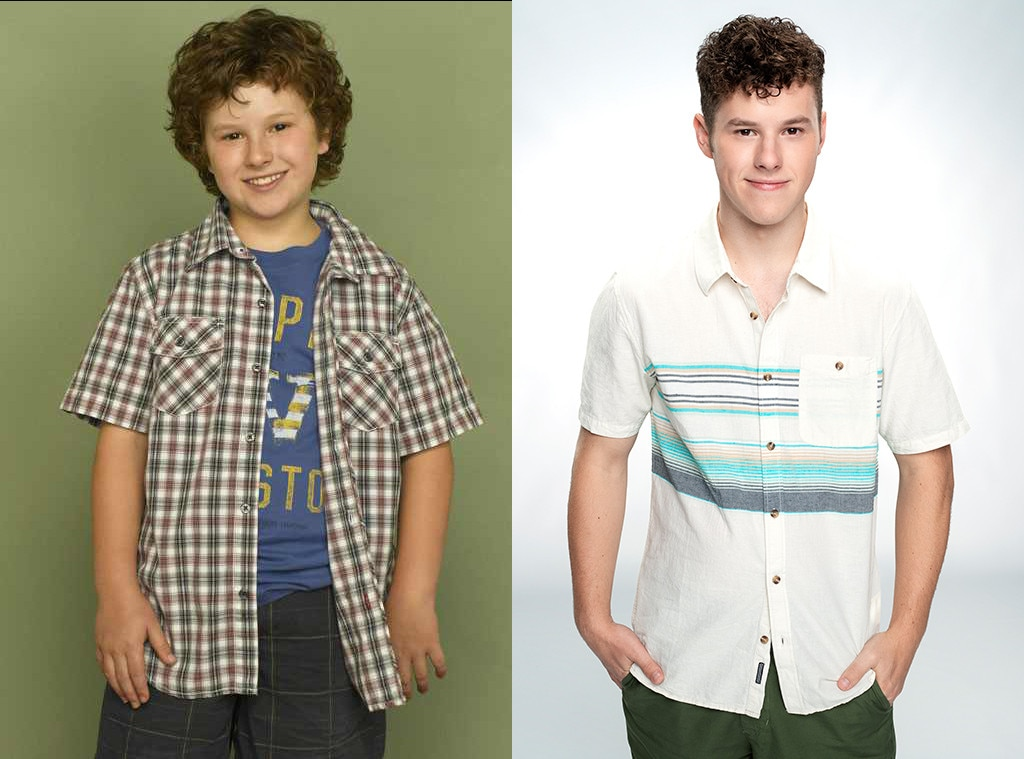 Nolan Gould, Modern Family, Then and Now, Season 1, Season 10