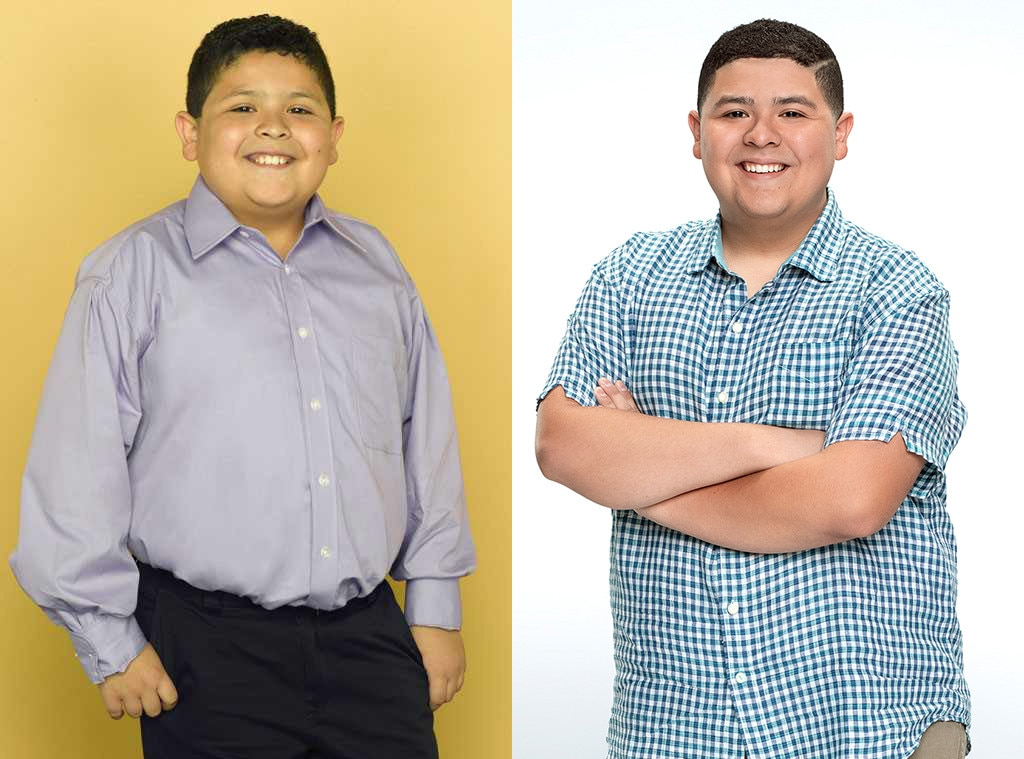 Rico Rodriguez, Modern Family, Then and Now, Season 1, Season 10