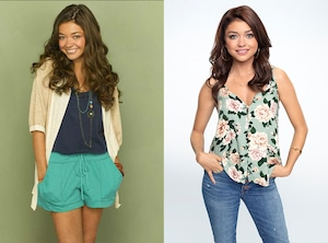 Sarah Hyland, Modern Family, Then and Now, Season 1, Season 10