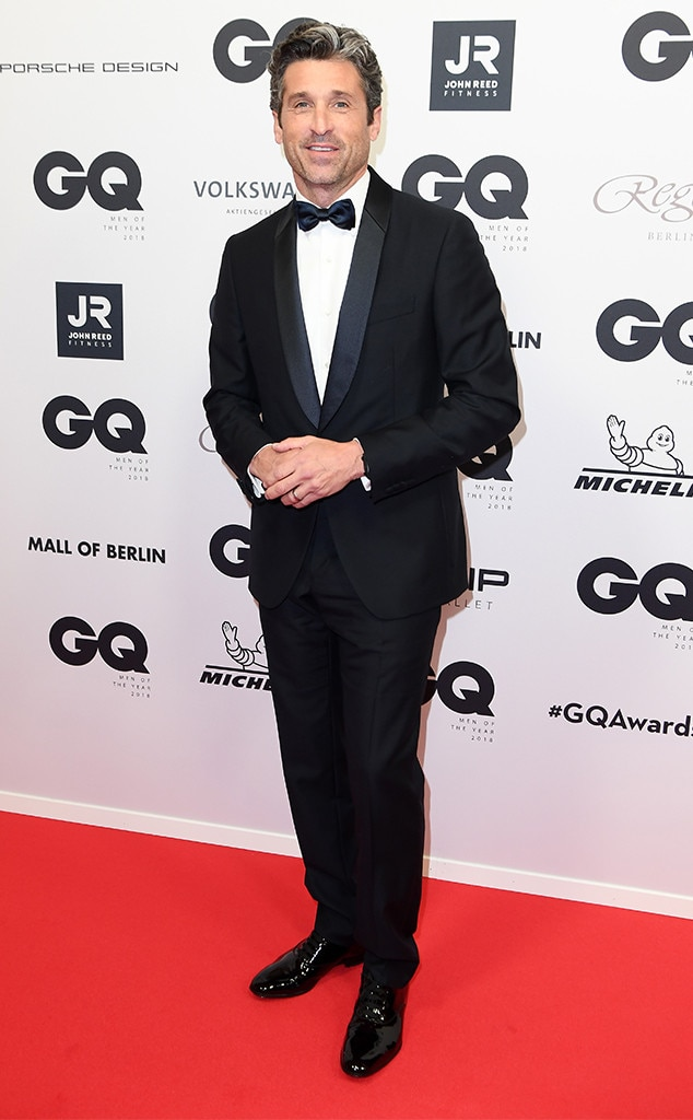 Patrick Dempsey, 2018 GQ Men of the Year Awards