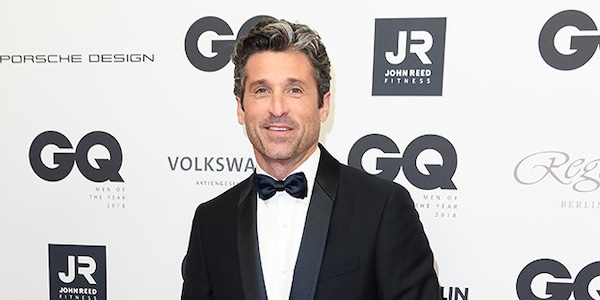 Patrick Dempsey From Gq Germany Men Of The Year Awards 2018 Red