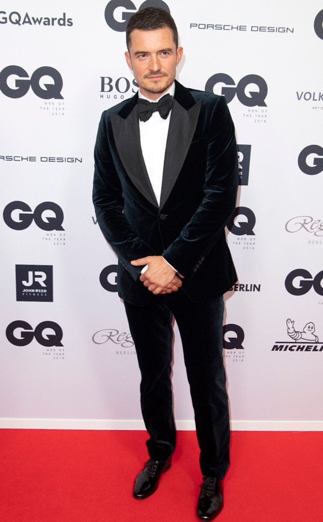Orlando Bloom, 2018 GQ Men of the Year Awards