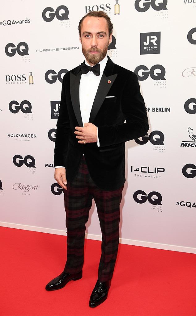 James Middleton, 2018 GQ Men of the Year Awards