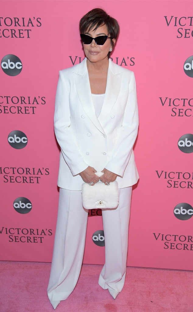 Kris Jenner, 2018 Victorias Secret Fashion Show, Arrivals