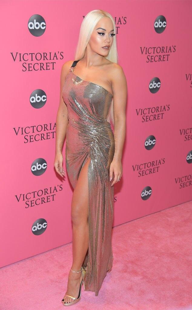 Rita Ora from 2018 Victora's Secret Fashion Show: Red ...