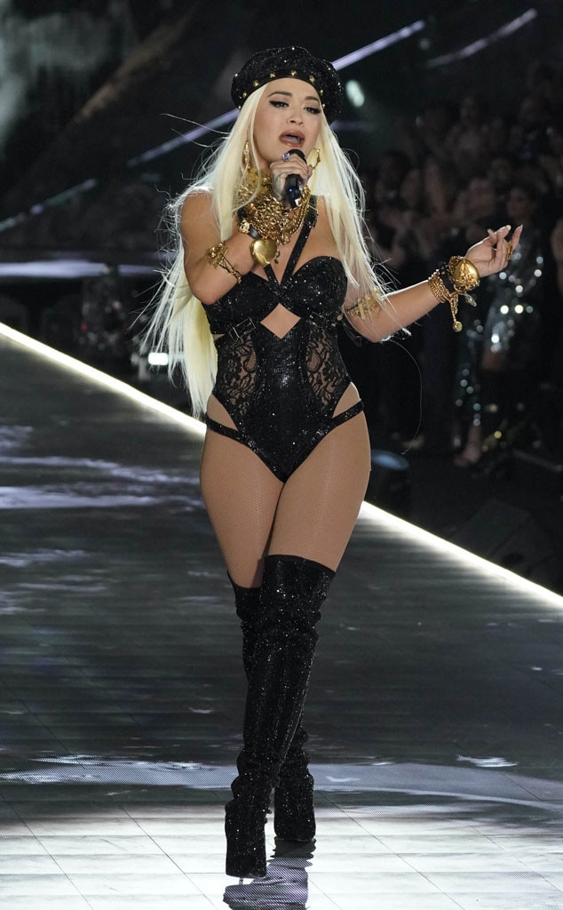 Rita Ora From See All The Looks From The Victoria S Secret Fashion