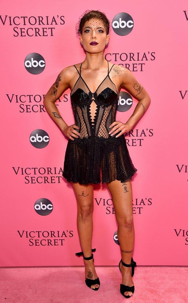 ESC: Halsey, 2018 Victorias Secret Show, Arrivals