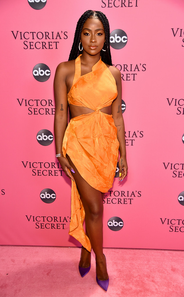 Justine Skye, 2018 Victorias Secret Fashion Show, Arrivals