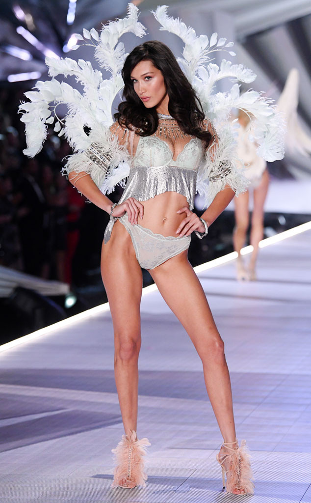Bella Hadid, 2018 Victorias Secret Fashion Show, Runway