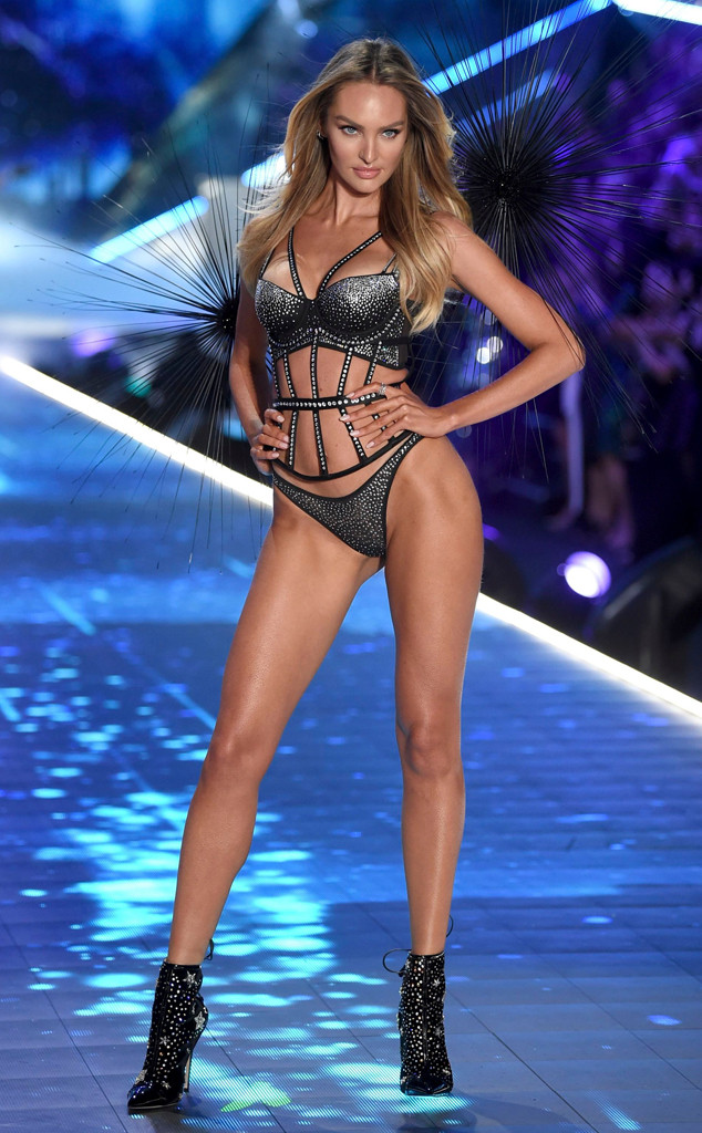 Candice Swanepoel, 2018 Victorias Secret Fashion Show, Runway