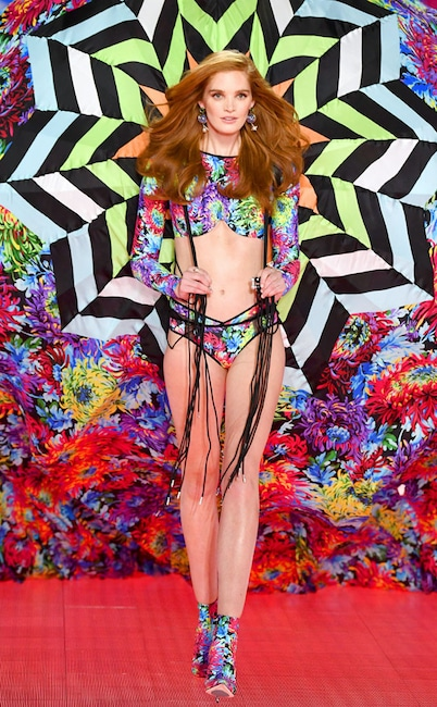 Alexina Graham, 2018 Victoria's Secret Fashion Show, Runway