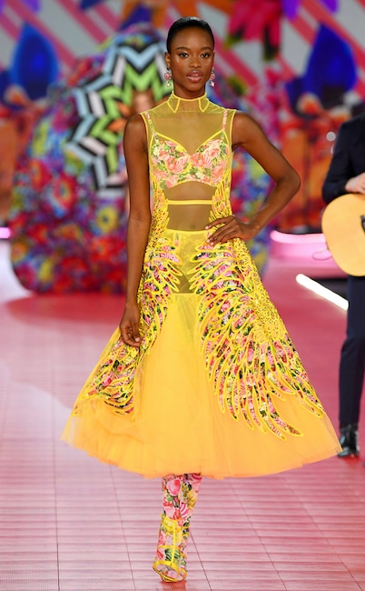 Mayowa Nicholas, 2018 Victoria's Secret Fashion Show, Runway