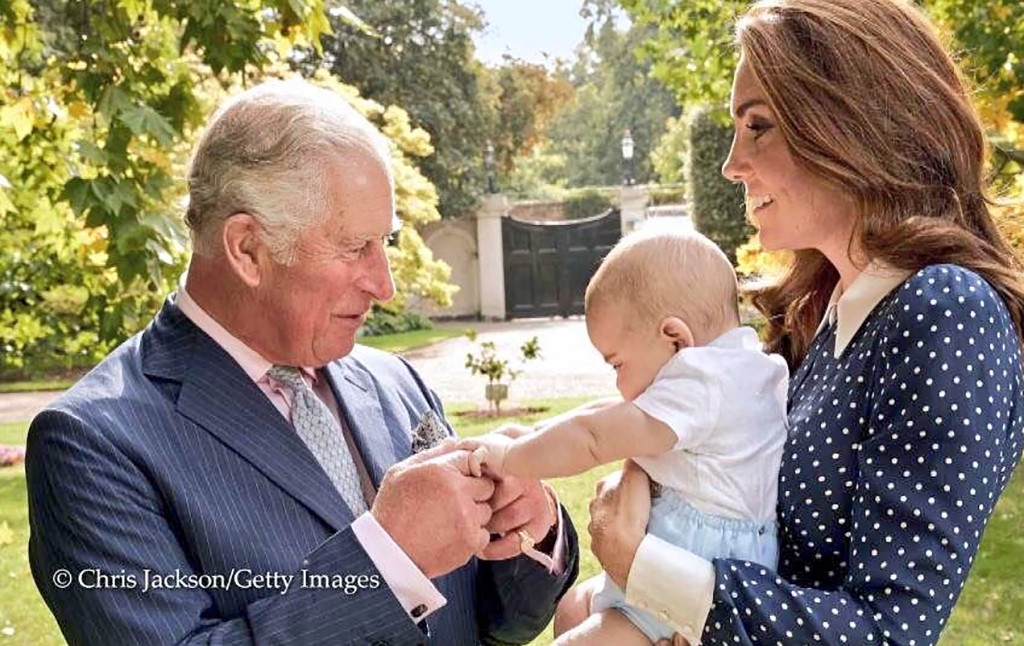 Prince Charles, Prince Louis, Kate Middleton