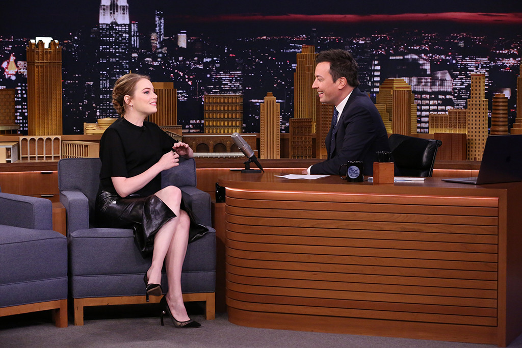 Emma Stone, The Tonight Show Starring Jimmy Fallon