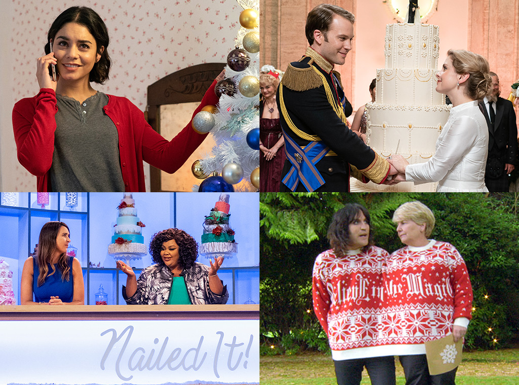 Netflix Christmas, Great British Bake Off, Nailed It, The Princess Switch, A Christmas Prince: The Royal Wedding