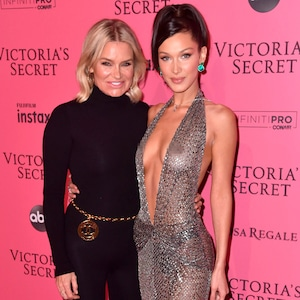 Bella Hadid, Yolanda Hadid, Victoria's Secret After Party 2018