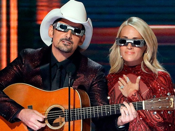 Carrie Underwood and Brad Paisley's Best CMA Awards Hosting Moments
