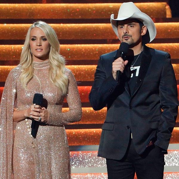Carrie Underwood, Brad Paisley, CMA's