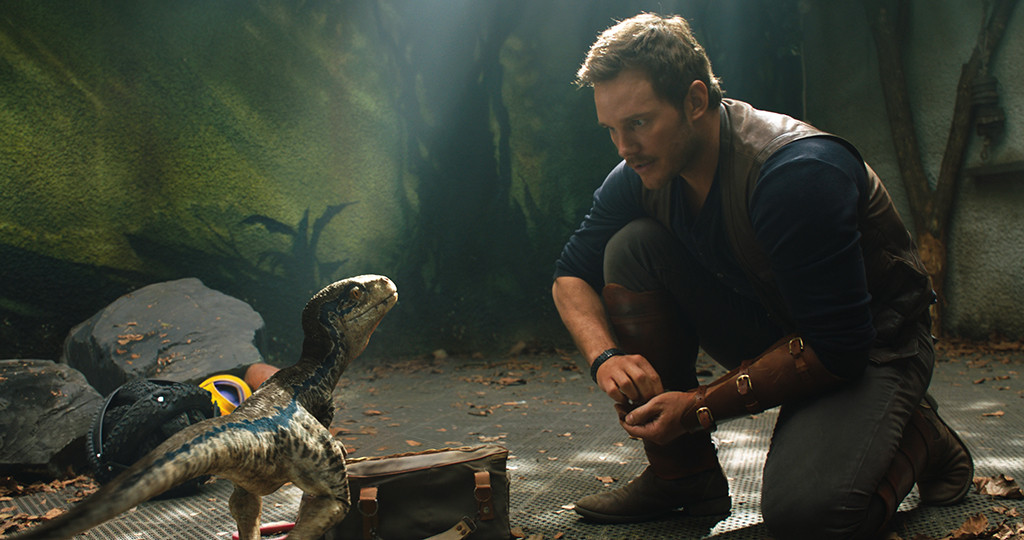 Chriss Pratt, Jurassic World: Fallen Kingdom