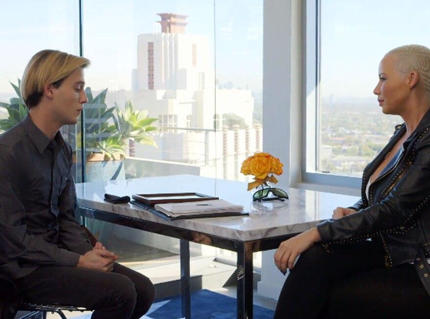 Amber Rose, Tyler Henry, Hollywood Medium