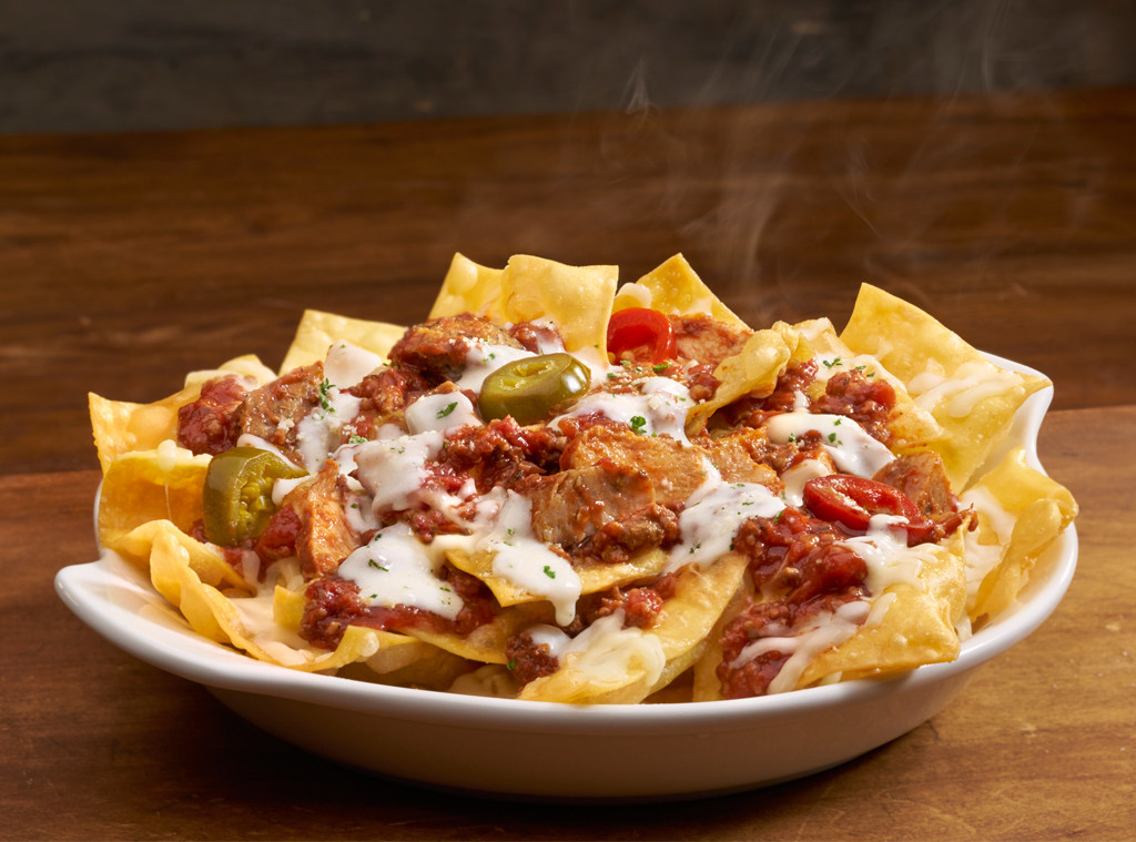 Menu For Olive Garden: Olive Garden Reveals Italian Pasta Nachos Just In Time For