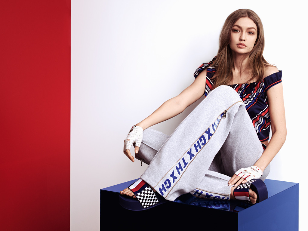 5df5f0be6 Gigi Hadid Models All the Looks From Tommy X Gigi Spring 2018