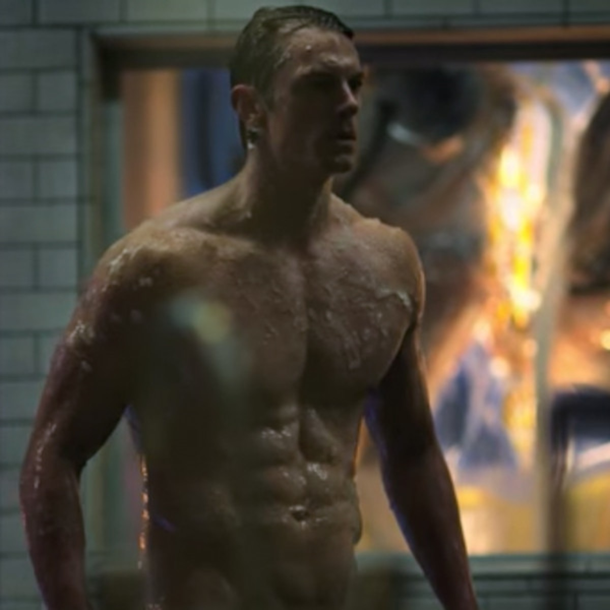 Altered Carbon Male Frontal about that time joel kinnaman was naked & covered in goo for