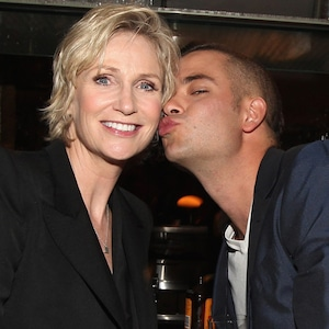 Jane Lynch, Mark Salling