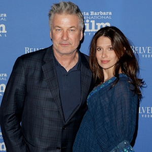 Alec Baldwin, Hilaria Baldwin, Santa Barbara International Film Festival Star Sightings