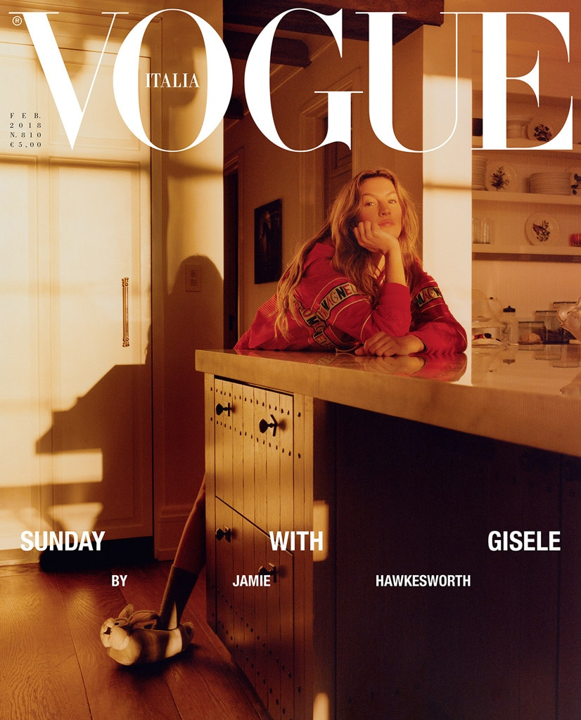 Vogue Italia, Gisele Bundchen