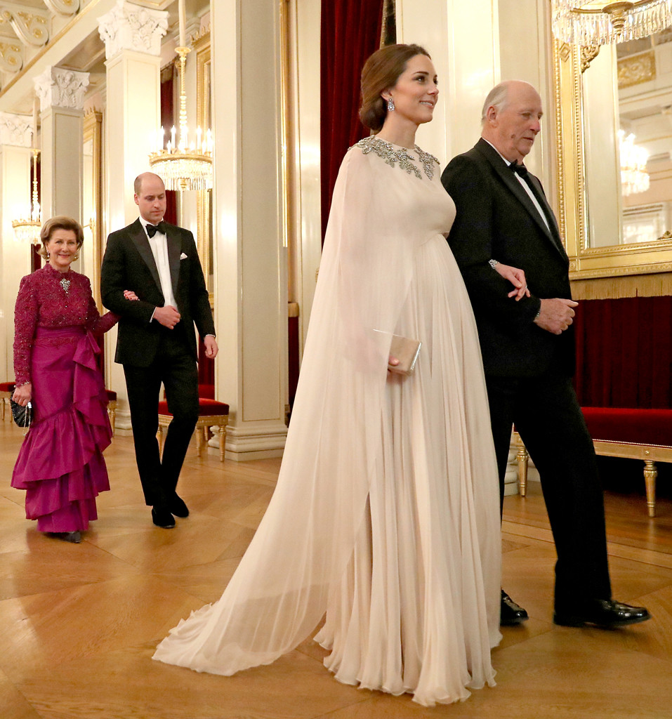 Kate Middleton, King Harald V, Norway