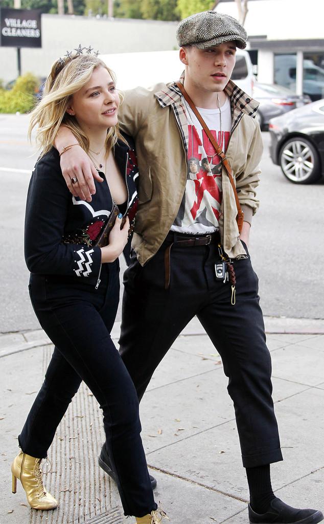 Brooklyn Beckham, Chloe Grace Moretz